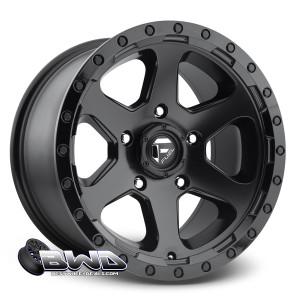 "18"" Fuel Ripper D589 Matte Black"