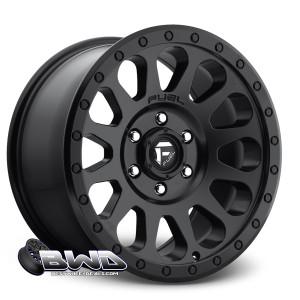 "18"" Fuel Vector D579 Matte Black"
