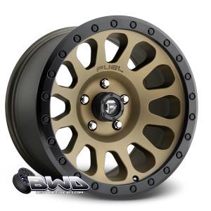"""18"""" Fuel Vector D600 Matte Bronze"""