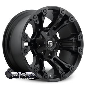 """20"""" Fuel Vapor D560 Matte Black"""