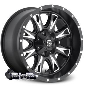 """20"""" Fuel Throttle D513 Matte Black"""