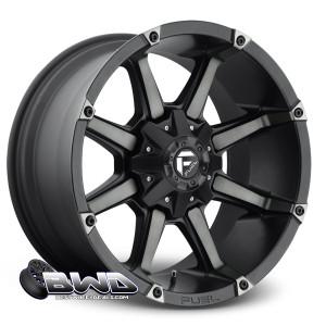 """20"""" Fuel Coupler D556 Machined Black"""