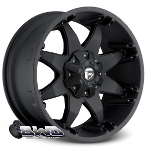 "20"" Fuel Octane D509 Matte Black"
