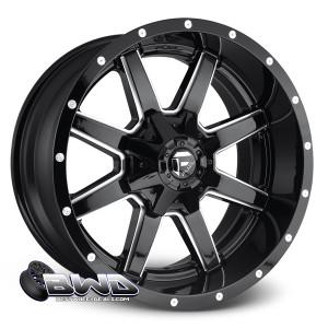 "20"" Fuel Maverick D610 Gloss Black"