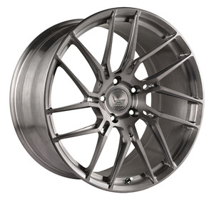 VS FORGED:  VS FORGED/VS09/Brushed Titanium/19X9, 19X10.5/WHEELS ONLY