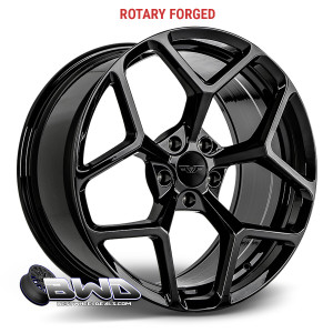 Rotary Forged Z28 Satin Black 20x10 PACKAGE