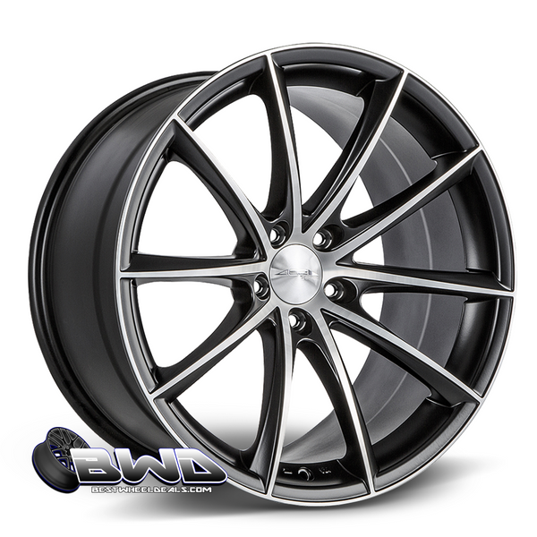 ACE Alloy Convex- Matte Black Machined
