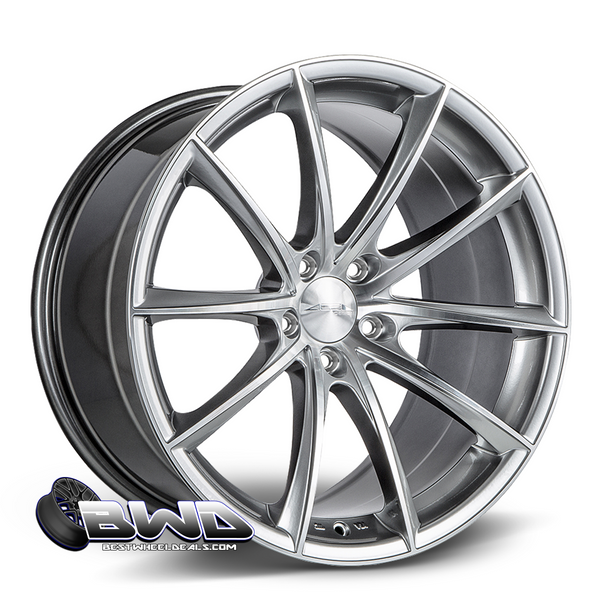 ACE Alloy Convex- Silver Machined