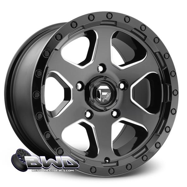"18"" Fuel Ripper D590 Gloss Black"