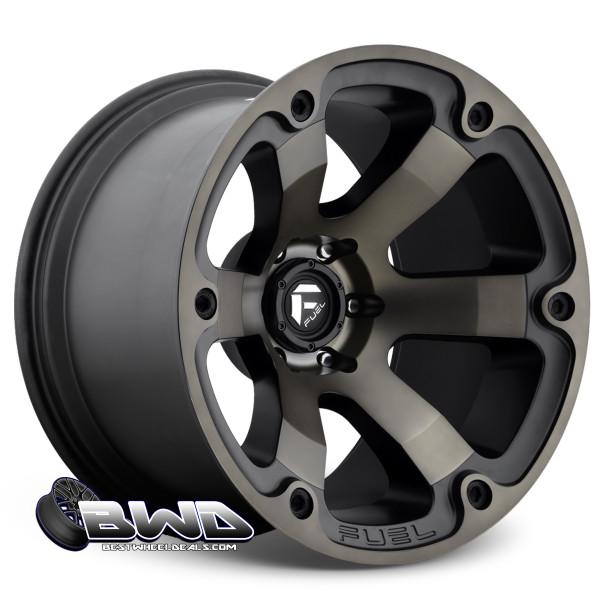 "20"" Fuel Beast D564 Matte Black"