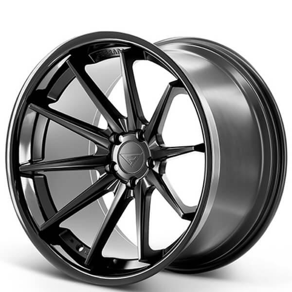 CUSTOM PRODUCT: FERRADA FR4 BLACK 19X9.5, 19X10.5