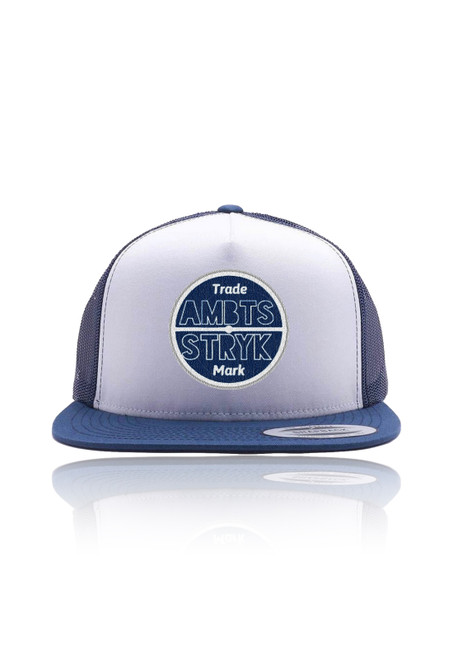 AMBTS Snapback Trucker Hat - Blue