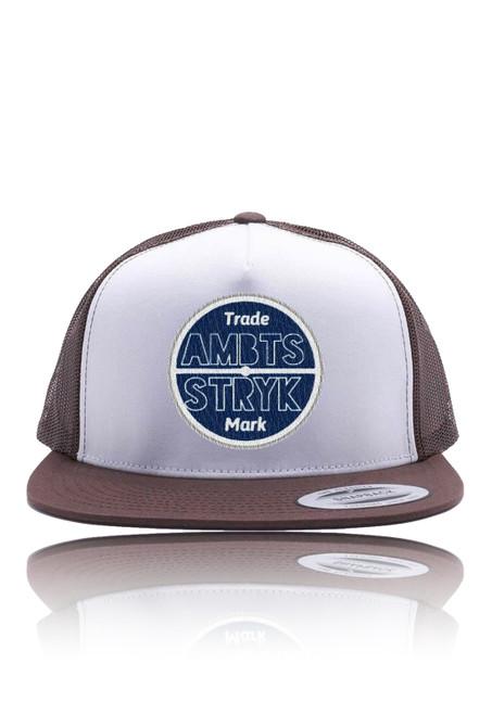 AMBTS Snapback Trucker Hat - Brown