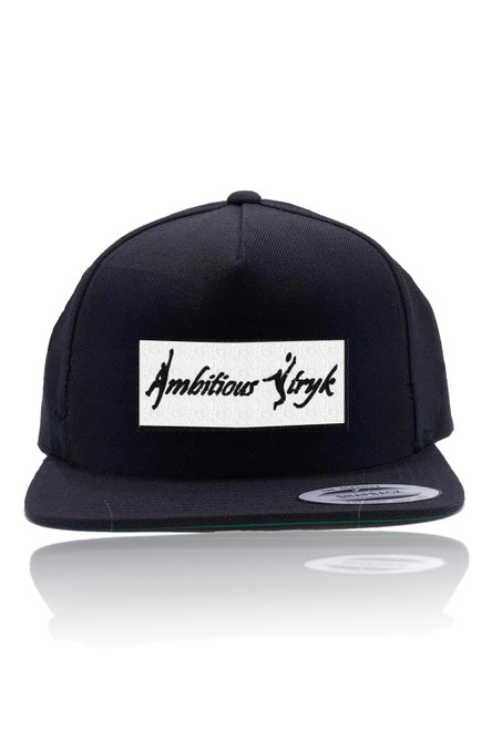 Ambitious Stryk Snapback Hat - Black