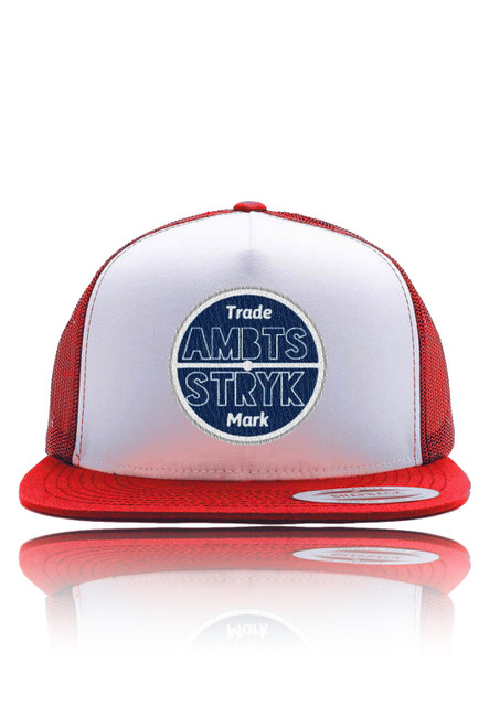 AMBTS Snapback Trucker Hat - Red
