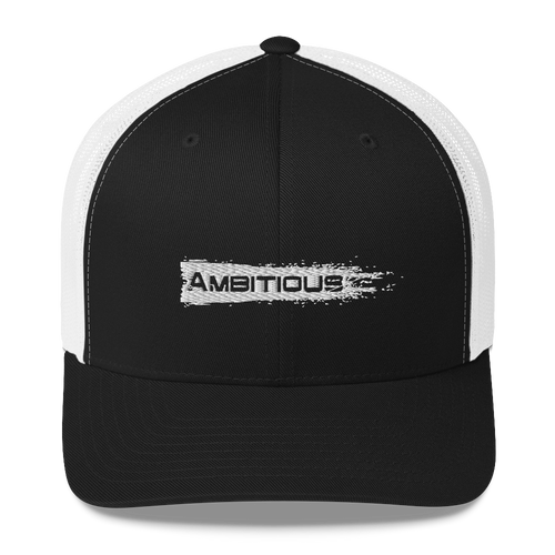 Ambitious Stryk Brushed Logo - Trucker Hat