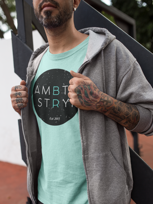 AMBTS Black Circle - Short-Sleeve Shirt