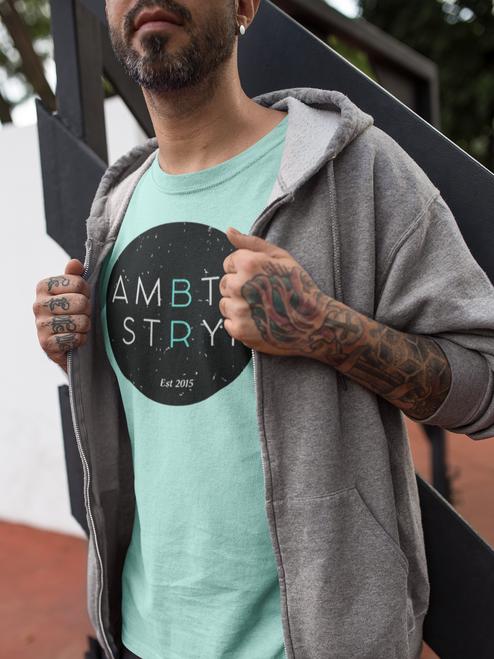 AMBTS Black Circle - Short-Sleeve Shirt