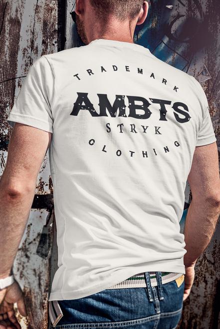AMBTS Branded Trademark - Short-Sleeve Shirt - Black Print