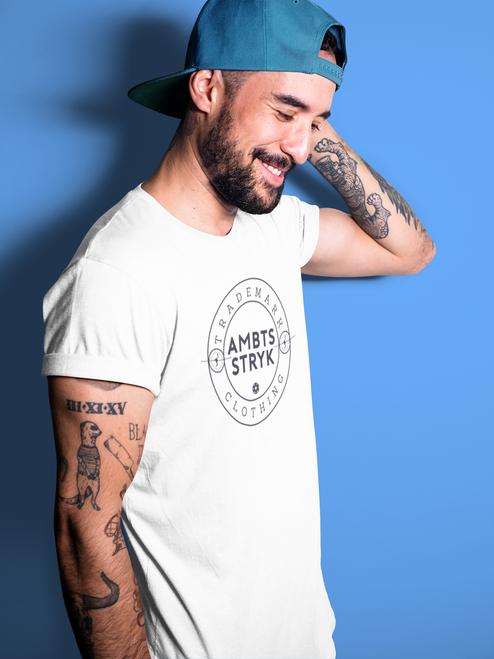 AMBTS Trademark Circle - Short-Sleeve Shirt - Black Print