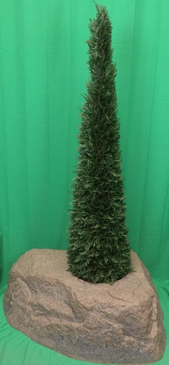 5 4 Artificial Outdoor Cypress 6 Spiral Uv Topiary Cedar Christmas Tree Lights