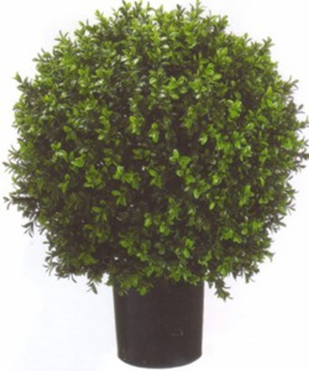 Artificial Circle Topiary Potted Boxwood Topiary