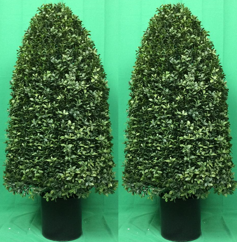 ARTIFICIAL GREEN  MANGO TREE SILK 5/' HOME DECOR PLANT BUSH IN POT PATIO TROPICAL