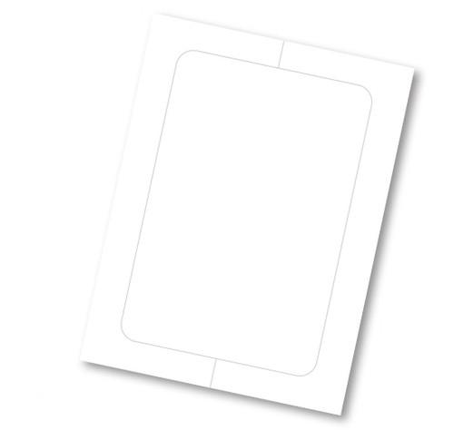 Blank Vehicle Window Sticker