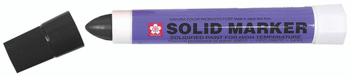 Solid Paint Markers (Grease Pens) Black