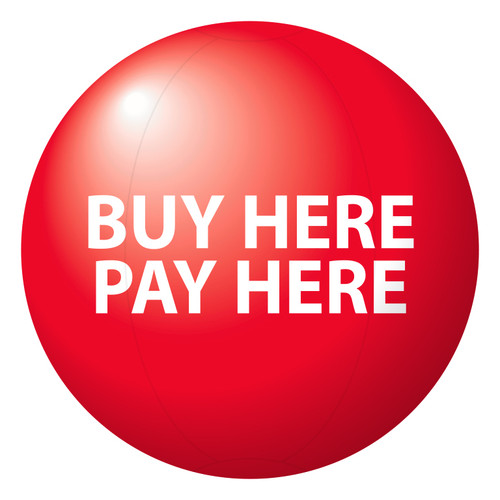 Buy Here Pay Here Red
