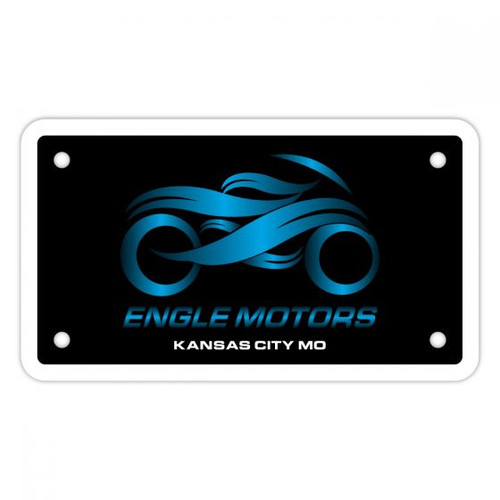 Motorcycle Plate Inserts