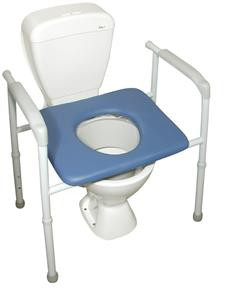 Incredible Over Toilet Aid Bariatric Steel Cushioned Seat Spiritservingveterans Wood Chair Design Ideas Spiritservingveteransorg