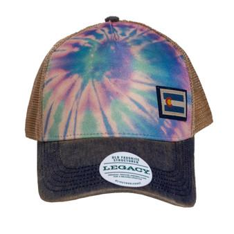 Tie Dye Old favorite Hat