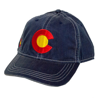 Colorado C Flag Hat