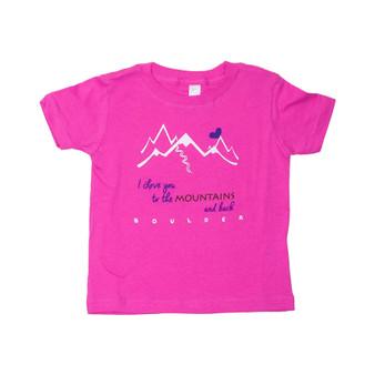 I Love to Mtns Boulder INF SST