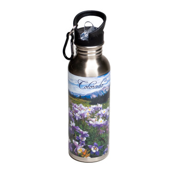 SSB40083: CO Columbines Stainless Water Bottle
