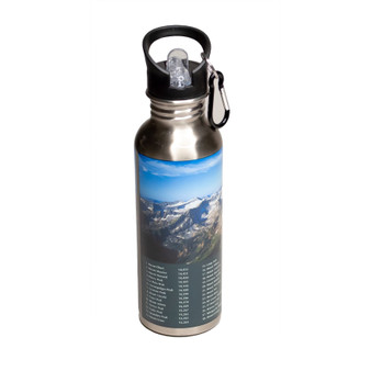 SSB40166: CO 14ers Stainless Steel Water Bottle
