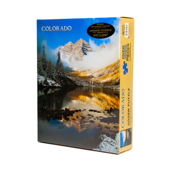 08S13112-Maroon Bells Clouds Puzzle
