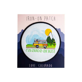Colorado Or Bust Patch