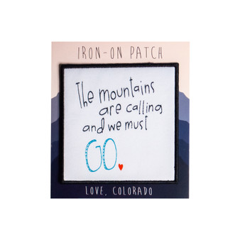 The Mountains Calling Patch