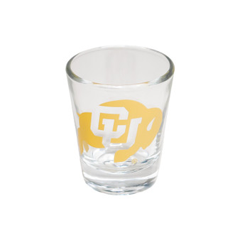 SHOT040: Collegiate Clear Shot With Gold Ink