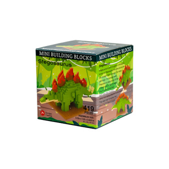 MBBM92046-Stegosaurus Mini Blocks