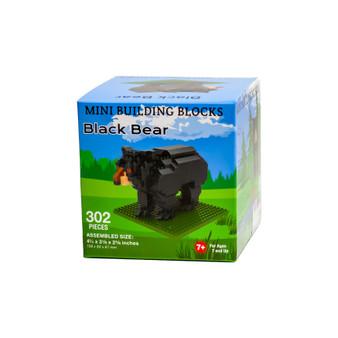 MBBM47469-Black Bear Mini Building Blocks