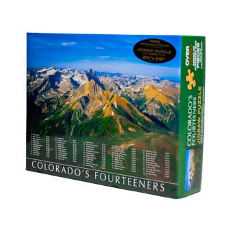 08S40166-Fourteeners Puzzle 1000 pc