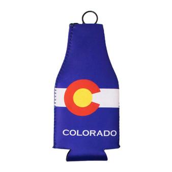 BCOL63410-Colorado Flag Bottle Cooler