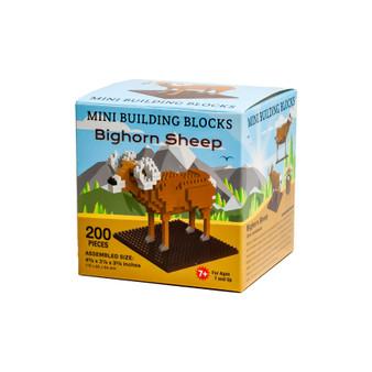 MBBM47319-Bighorn Sheep/Mtns Mini Building Blocks