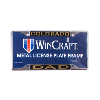 L323429: CU License Plate DAD
