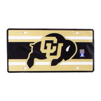 S68643: CU Stripes Specialty License Plate