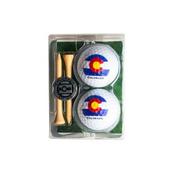 2GBT43- Colorado Golf Ball Set