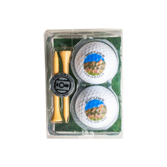 2GBT63- Boulder  Golf Ball Set